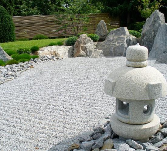 japanischer Trockengarten