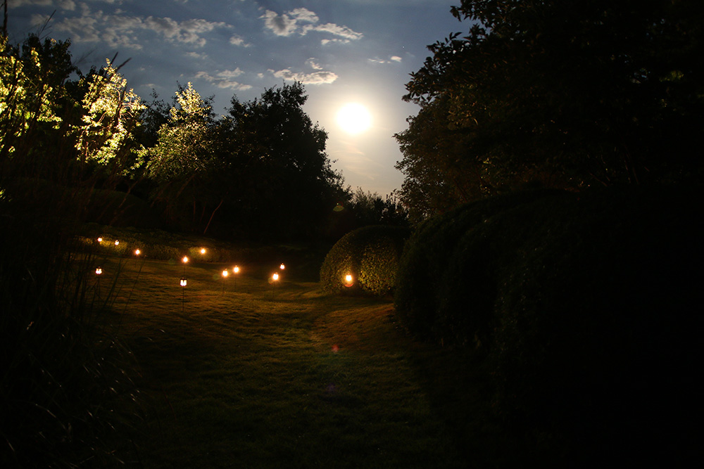 Sternenfest im japanischen Garten in Bartschendorf