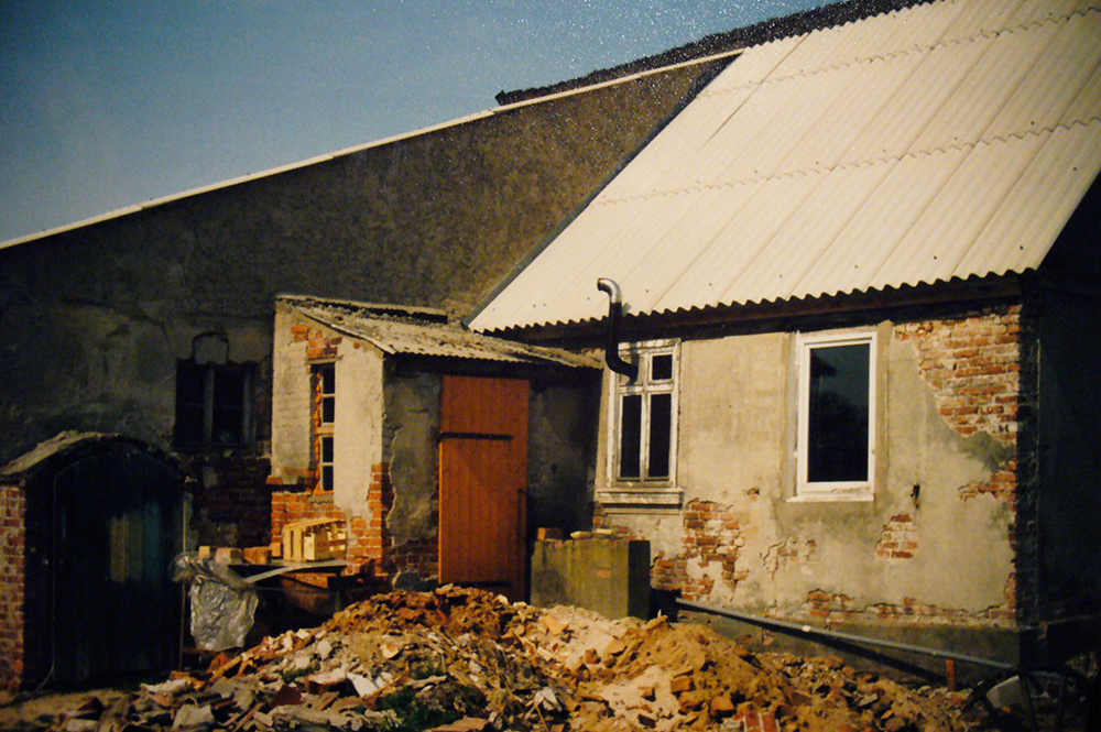 altes, marodes Haus