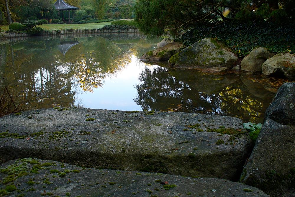 japanischer Privatpark bei Nürnberg