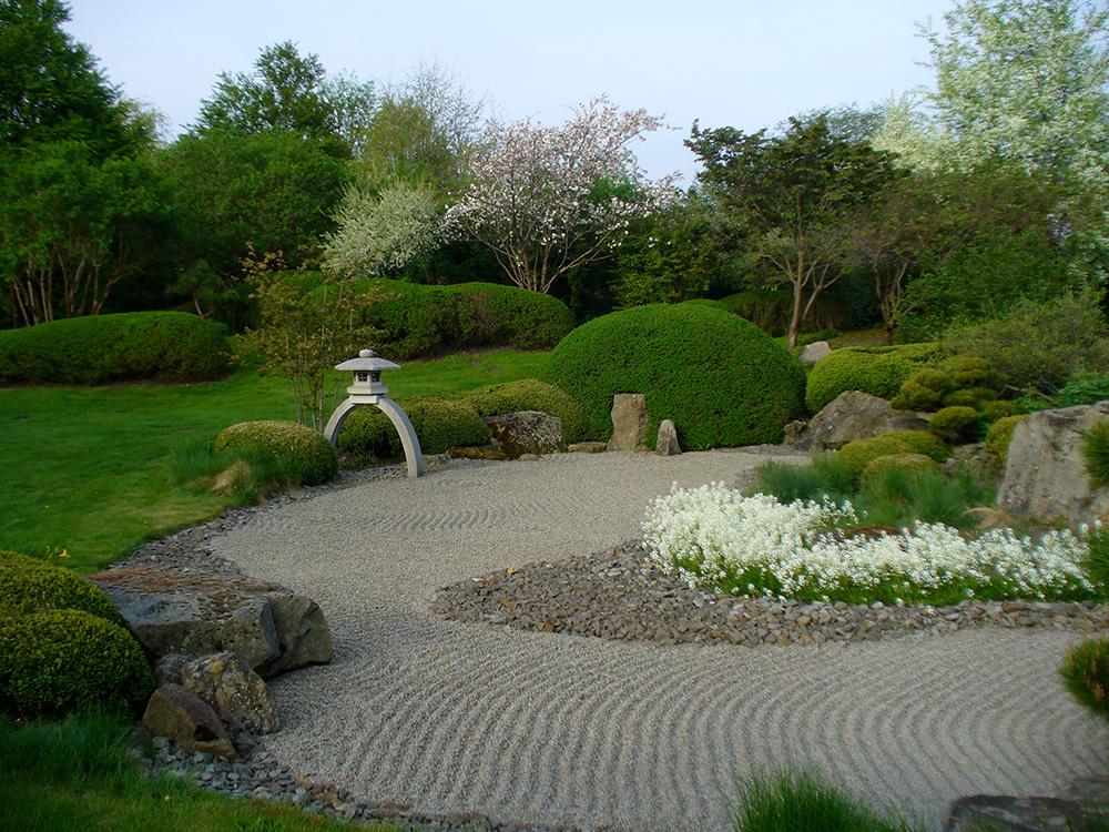 Frühling im japanischen Garten in Bartschendorf