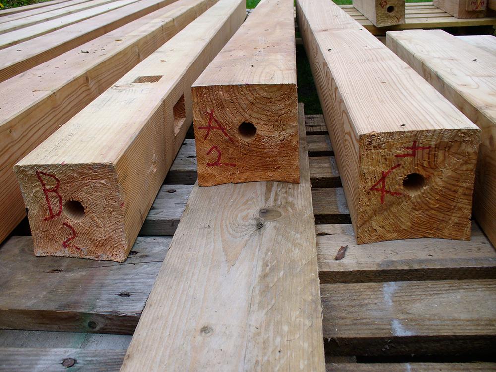 japanische Holzverbindungen