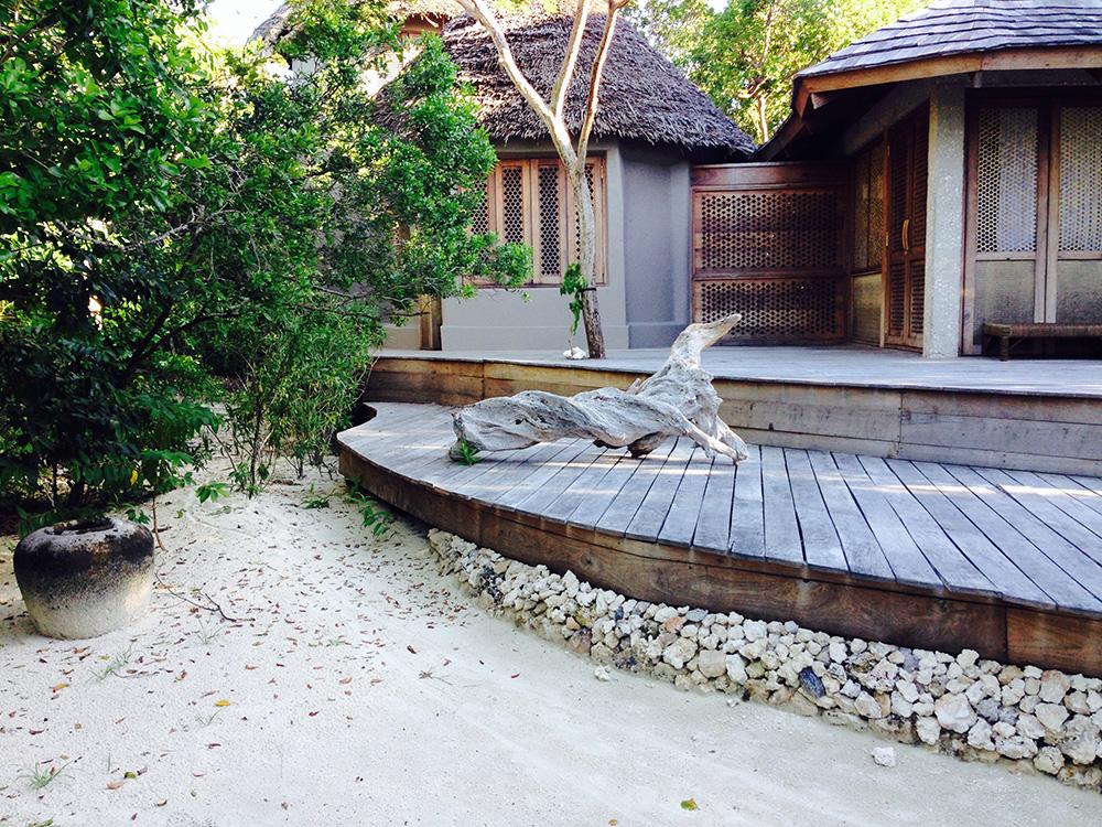 luxury villa on Vamizi island in mosambique