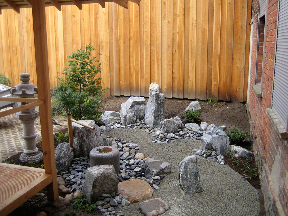 japanischer Hofgarten - tsuboniwa
