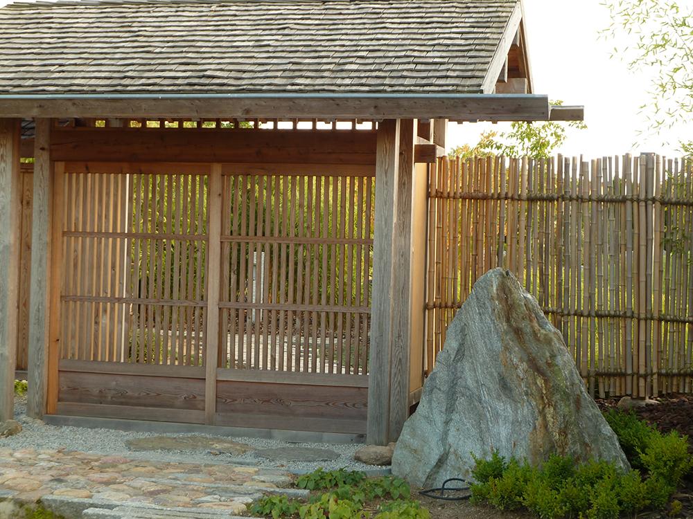 japanisches Eingangstor