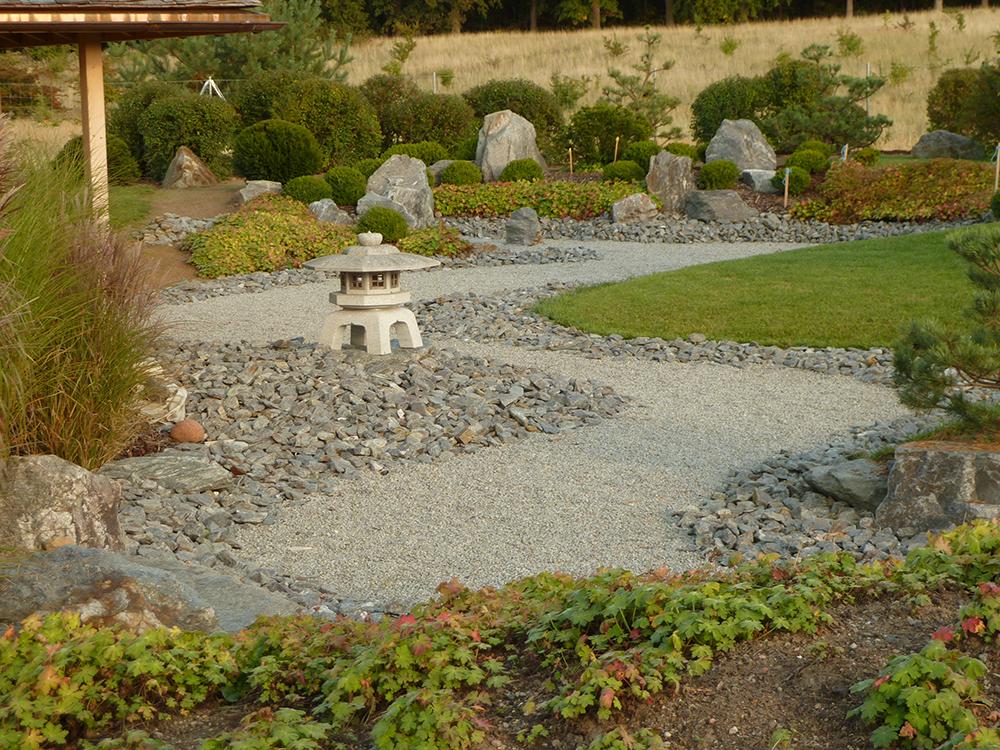 japanischer Trockengarten in Feldberg